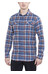 Columbia Flare Gun Flannel Long Sleeve Shirt Men Night Tide Multi